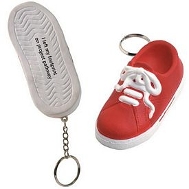 Promotional Sneaker Squeezie Keyring