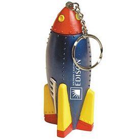 Customized Rocket Squeezie Keyring