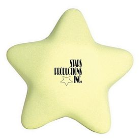 Customized Glow in the Dark Star Squeezie