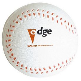 Promotional Baseball Squeezie Stress Reliever