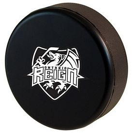 Customized Hockey Puck Squeezie Stress Reliever