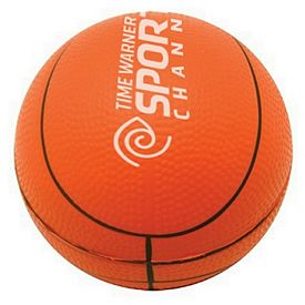 Customized Basketball Squeezie Stress Reliever