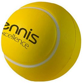 Promotional Tennis Ball Squeezie Stress Reliever