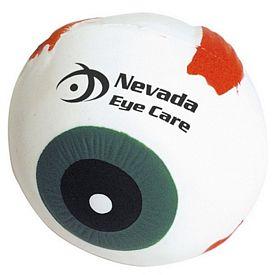 Customized Eyeball Squeezie Stress Reliever
