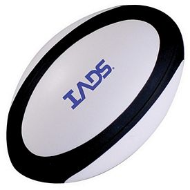 Promotional Rugby Ball Squeezie Stress Reliever
