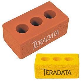 Customized Brick Squeezie Stress Reliever