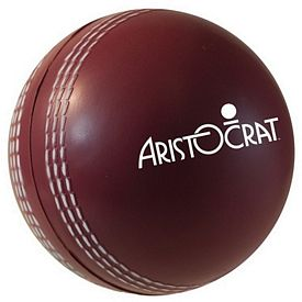 Customized Cricket Ball Squeezie Stress Reliever