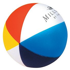 Customized Beach Ball Squeezie Stress Reliever