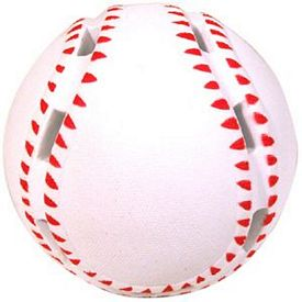 Customized Light up Baseball Squeezie Stress Reliever