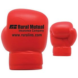 Customized Boxing Glove Squeezie Stress Reliever
