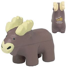 Customized Moose Squeezie Stress Reliever