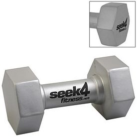 Customized Dumbbell Squeezie Stress Reliever