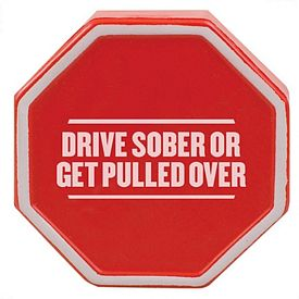 Customized Stop Sign Squeezie Stress Reliever