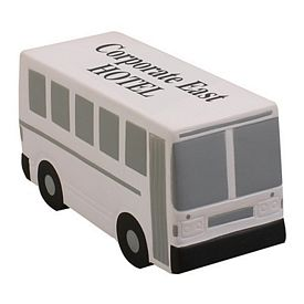 Promotional Shuttle Bus Squeezie Stress Reliever