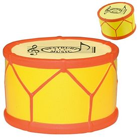 Promotional Drum Squeezie Stress Reliever