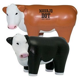 Promotional Steer Squeezie Stress Reliever