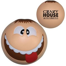 Promotional Silly Funny Face Squeezie Stress Reliever