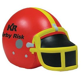 Promotional Football Helmet Squeezie Stress Reliever
