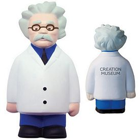 Customized Scientist Squeezie Stress Reliever