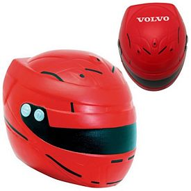 Promotional Motorcycle Helmet Squeezie Stress Reliever