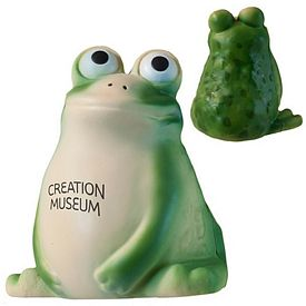 Customized Frog Squeezie Stress Reliever
