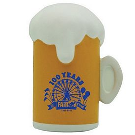 Customized Beer Mug Squeezie Stress Reliever