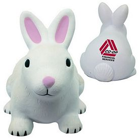 Promotional Rabbit Squeezie Stress Reliever