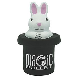 Customized Magic White Rabbit in Tophat Squeezie