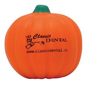 Promotional Pumpkin Squeezie Stress Reliever