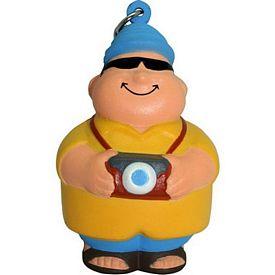 Promotional Tourist Bert Squeezie Keyring