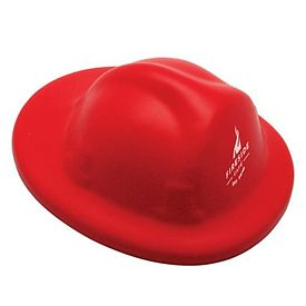 Customized Fire Helmet Squeezie Stress Reliever