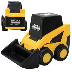 Promotional Bobcat Bulldozer Squeezie Stress Reliever