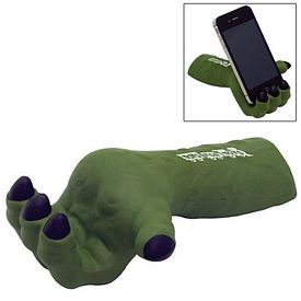 Promotional Monster Hand Phone Holder Squeezie Stress Reliever
