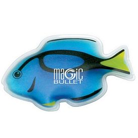 Customized Tropical Blue Tang Fish Chill Gel Ice Pack