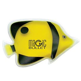 Customized Tropical Yellow Angel Fish Chill Gel Ice Pack