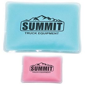 Customized Opaque Rectangle Chill Gel Ice Pack