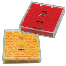 Customized Two-Sided Maze Puzzle Toy