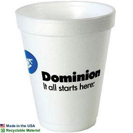 Promotional 10 Oz Foam Cup