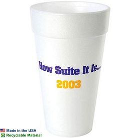 Promotional 20 Oz Foam Cup