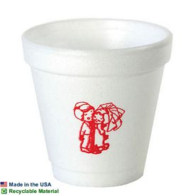 Custom 4 Oz Foam Cup