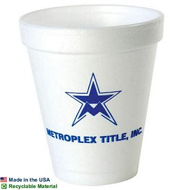 Promotional 6 Oz Foam Cup