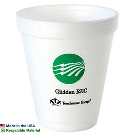 Customized 8 Oz Foam Cup