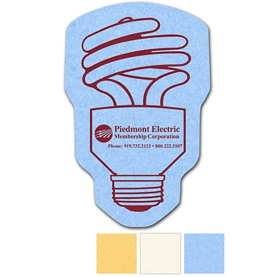 Promotional Cfl Bulb Compressed Small Sponge