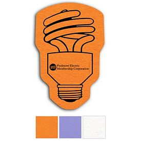 Promotional Cfl Bulb Shammy Coaster