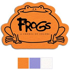 Customized Frog Shammy Coaster