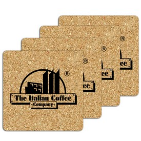 Promotional Square Small Cork Coaster