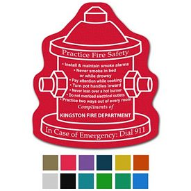 Promotional Fire Hydrant Classic Rubber Medium Jar Opener