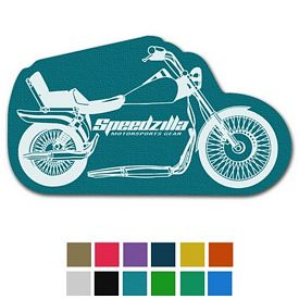 Promotional Motorcycle Classic Rubber Medium Jar Opener