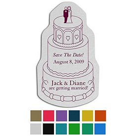 Custom Wedding Cake Classic Rubber Medium Jar Opener