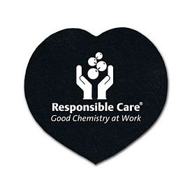 Promotional Heart Recycled Tire Small Coaster